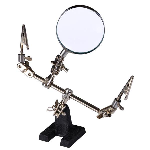 Helping Hands with Magnifying Glass (2.5-inch)