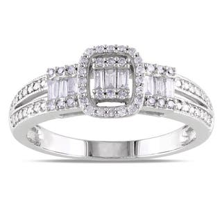 Miadora 10k White Gold 1/3ct TDW Mixed Cut Diamond Ring|https://ak1.ostkcdn.com/images/products/7423877/7423877/Miadora-10k-White-Gold-1-3ct-TDW-Mixed-Cut-Diamond-Ring-G-H-I1-I2-P14877553.jpg?impolicy=medium