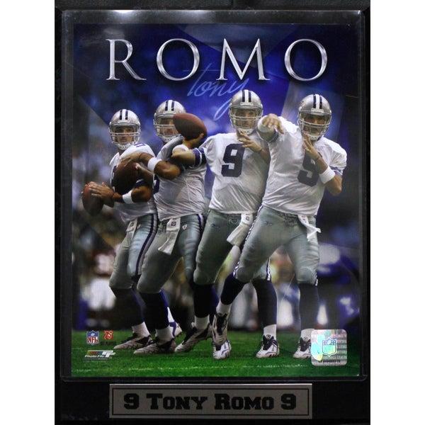 Dallas Cowboys Tony Romo Photo Plaque (9 x 12)