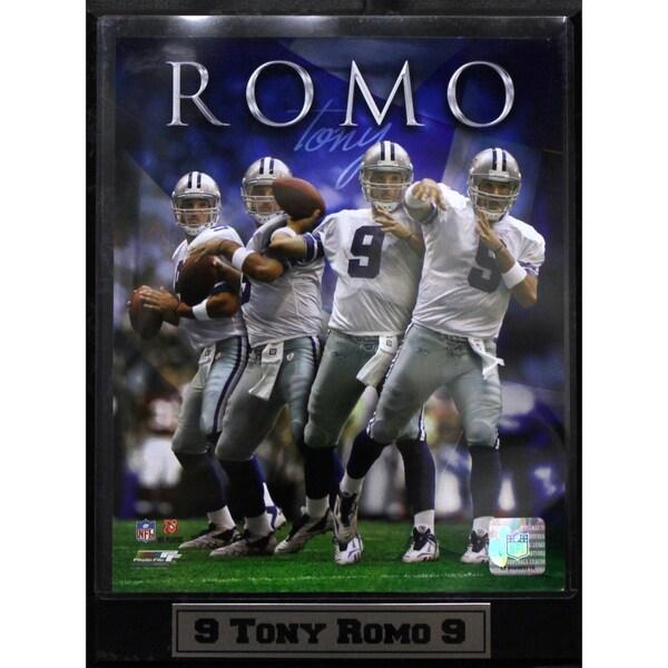 Dallas Cowboys Tony Romo Photo Plaque 9 X 12 Free