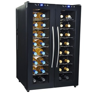 Link to NewAir 32 Bottle Dual Zone Wine Cooler - Black Similar Items in Kitchen Appliances