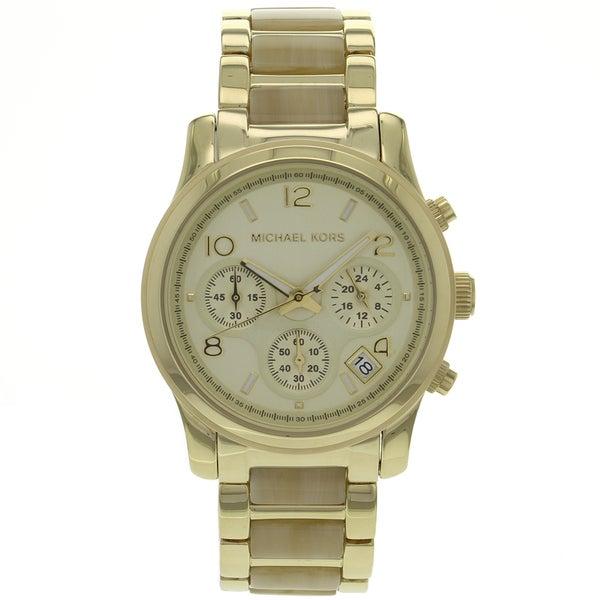 Michael Kors Women's MK5660 Runway Stainless Steel Watch