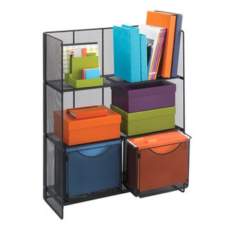 Safco Onyx Mesh Fold-up Shelving|https://ak1.ostkcdn.com/images/products/7424105/7424105/Onyx-Fold-Up-Shelving-P14877747.jpg?_ostk_perf_=percv&impolicy=medium