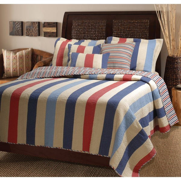 Greenland Home Fashions Austin 3-piece Quilt Set