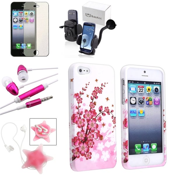 BasAcc Case/ Screen Protector/ Headset/ Mount for Apple® iPhone 5