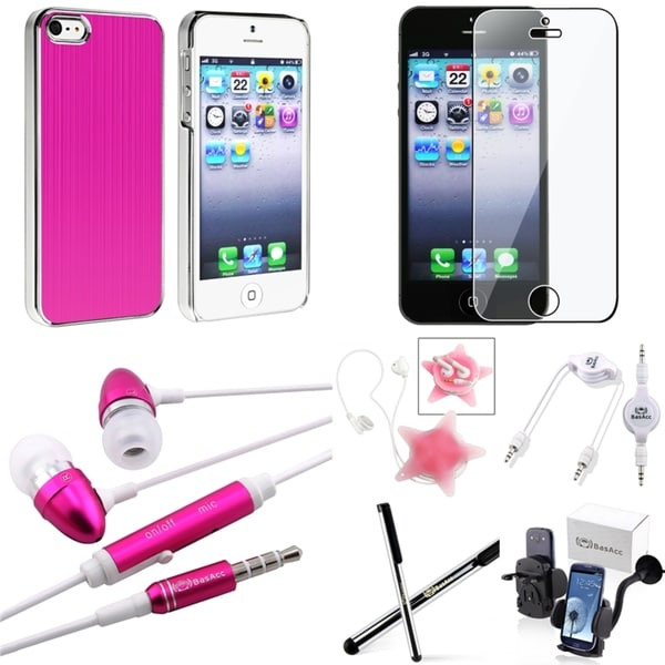 BasAcc Case/ Screen Protector/ Stylus/ Mount for Apple® iPhone 5
