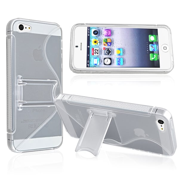 BasAcc Clear S Shape TPU Case for Apple® iPhone 5