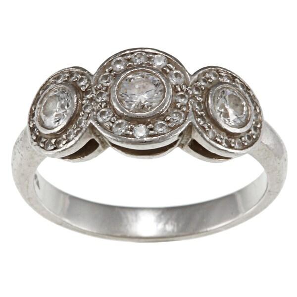 Platinum 3/5ct TDW Diamond Tiffany Circlet Ring (G-H, VS1-VS2)