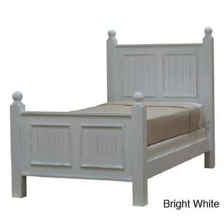 Notting Hill Full-size Poster Bed (Bright White - Full)