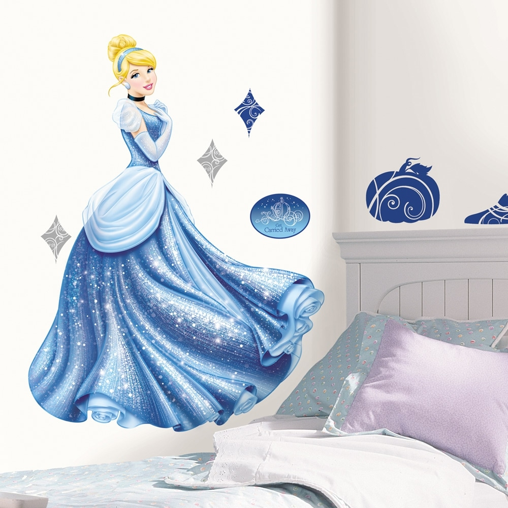 RoomMates Disney Princess Cinderella Glamour Peel & Stick...
