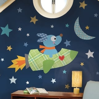 Rocketdog Peel & Stick Giant Wall Decals