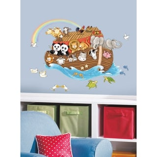 Noah's Ark Peel & Stick Giant Wall Decals