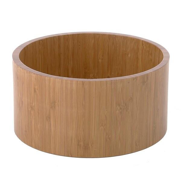 Bellagio Large Bamboo Serving Bowl