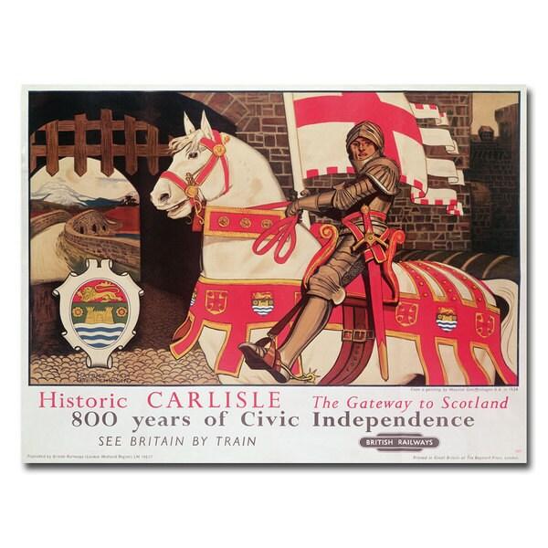 Maurice Greffenhagen Getaway to Scotland 1924' Canvas Art