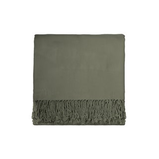 Solid Rayon from Bamboo 50 x 70 Sage Throw