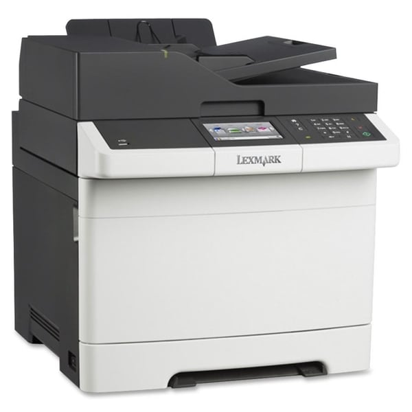 Lexmark CX410E Laser Multifunction Printer - Color - Plain Paper Prin