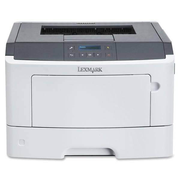 Lexmark MS410DN Laser Printer - Monochrome - 1200 x 1200 dpi Print -