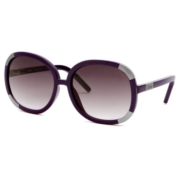c3310593740be Shop Chloe Women s CL2119-C15-60-16-135F Fashion Sunglasses - Free Shipping  Today - Overstock - 7424668