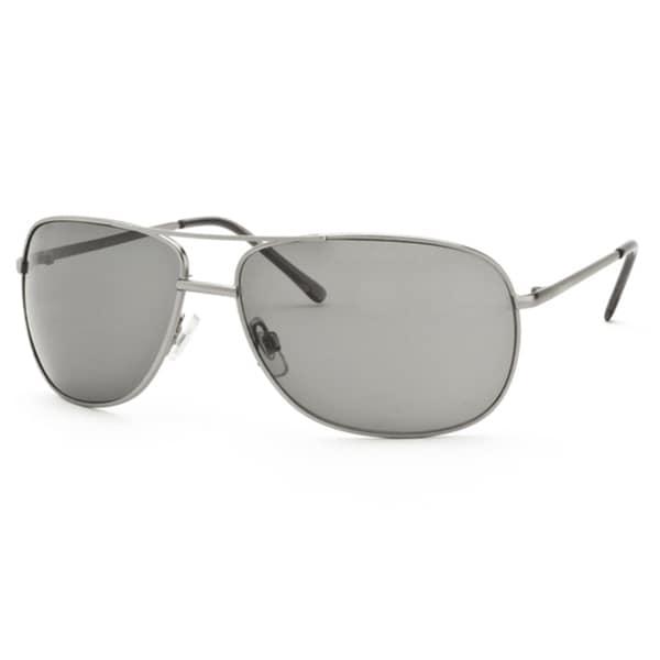 Perry Ellis Unisex 022-4-GUNMETA-65-15 Fashion Sunglasses