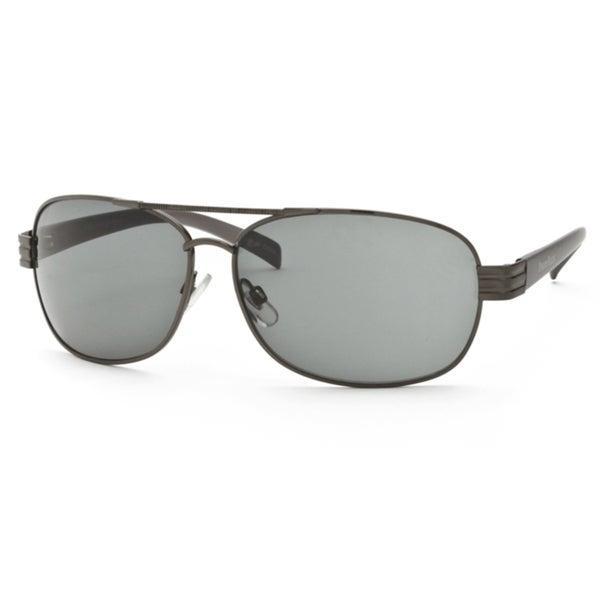 Perry Ellis Women's 021-1-GUNMETA-61-16 Fashion Sunglasses
