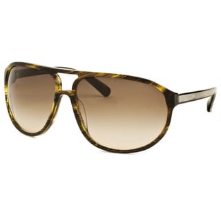 Valentino Women's 1211S-53RCC-63-14 Brown Plastic Sunglasses