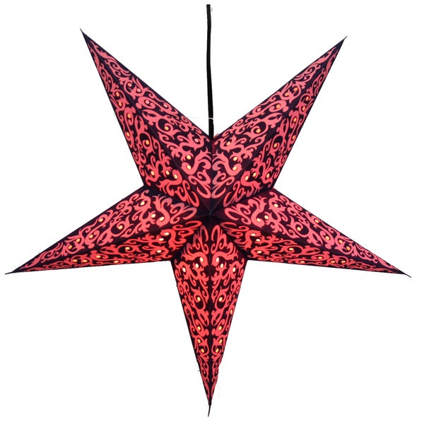 Skysplosion Star Recycled Paper Lamp (India)