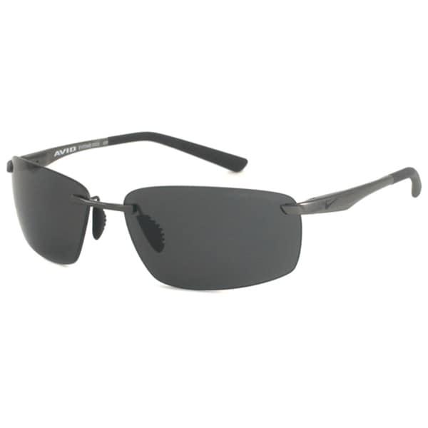 Nike Men's Avid Rimless/ Polarized Sunglasses