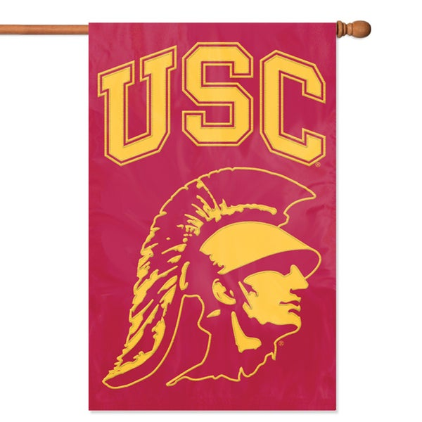 Party Animal USC Applique Banner Flag