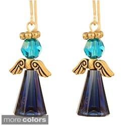 Austrian Crystal Angel Earrings