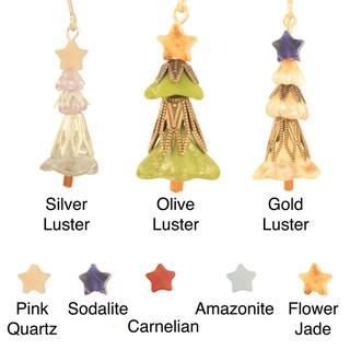 Joyful Christmas Tree Earrings
