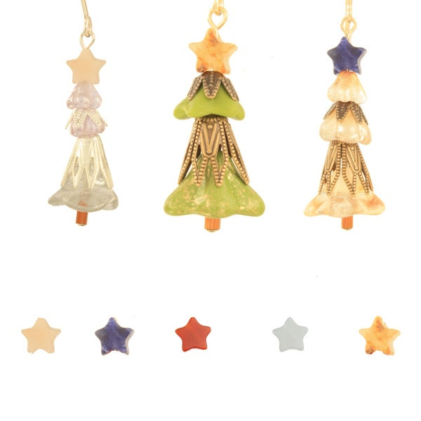 Joyful Christmas Tree Earrings