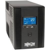 Tripp Lite UPS Smart 1500VA 900W Tower LCD Battery Back Up AVR Coax R