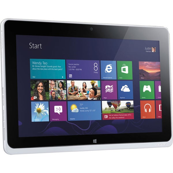 """Acer ICONIA W510-27602G06ass 64 GB 10.1"""" Tablet"""
