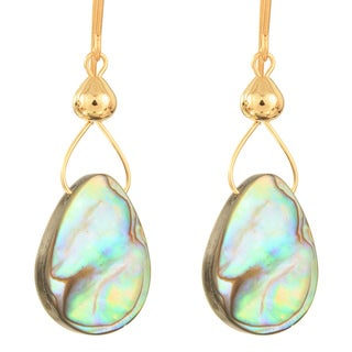 Drops of Abalone Earrings