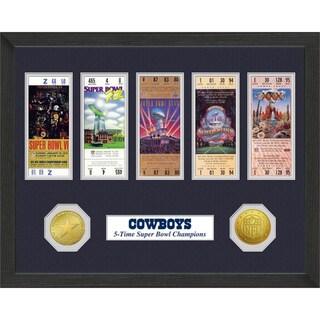 Dallas Cowboys NFL SB Ticket/Game Coin Frame