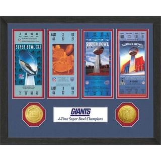 New York Giants NFL SB Ticket/Game Coin Frame