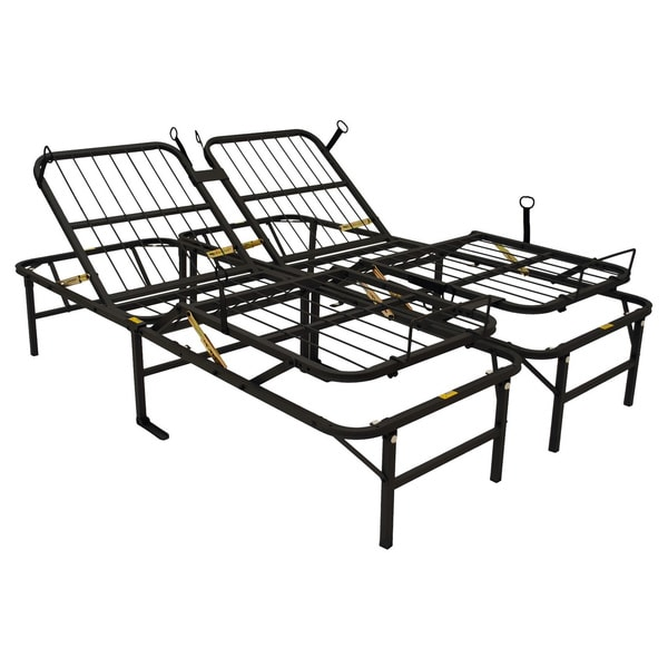 Pragma Simple Adjust Head-and-Foot Queen Bed