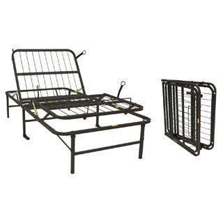 Pragma Simple Adjust Twin XL Steel Bed Frame