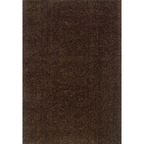 Indoor Brown Shag Area Rug