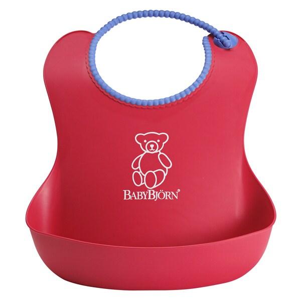 BabyBjörn Red Soft Bib