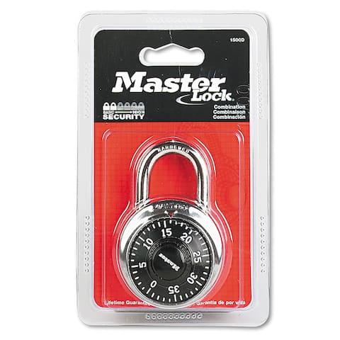 Master Lock Combination Lock- Stainless Steel-