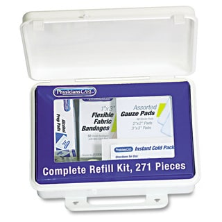 Physicians Care Kitcare 271-piece Complete Refill Kit