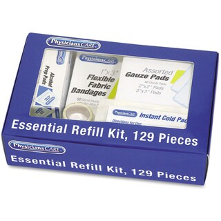 Physicians Care Kitcare 129-piece Essential Refill Kit