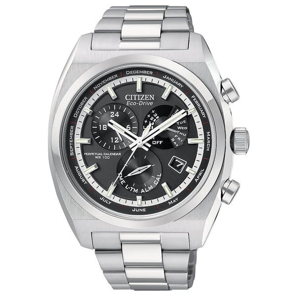 Citizen Men's Stainless Steel Calibre 8700 Eco-Drive Watch
