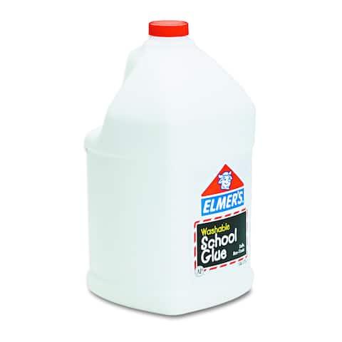 Elmers Washable School Glue 1gal Liquid