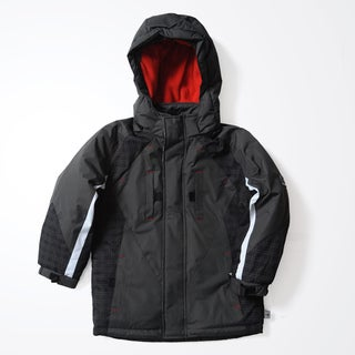 Rothschild Kids' Charcoal Tonal Plaid Jacket