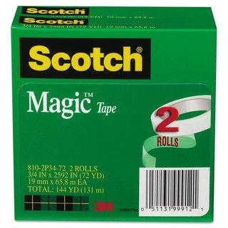 3M Magic Tape 3/4 x2592 3 Core 2 Rls