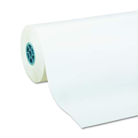 Pacon Kraft Paper Roll 40lb 24 w 1000 l White Roll