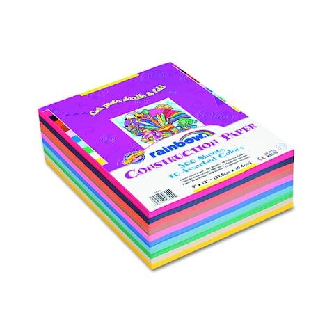 Pacon Construction Paper Rainbow Color