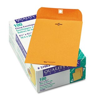 Quality Park Clasp Envelope 6 1/2 x 9 1/2 28lb